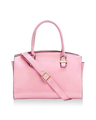 D'ORCIA Women's Whitney Satchel, Light Pink
