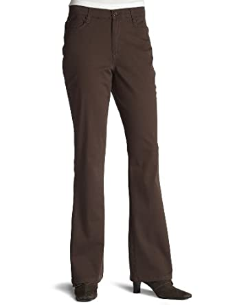 Gloria Vanderbilt Women's Roberta Perfect Fit Elastic Waistband Pant