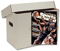 10 Magazine Cardboard Storage Boxes
