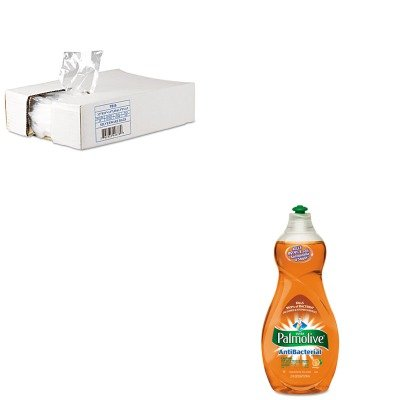 KITCPM46113EAIBSPB10 - Value Kit - Silverware Bg 3.5x10 w/ 1.5 Lip.7milcle 2000 (IBSPB10) and Ultra Palmolive Antibacterial Dishwashing Liquid (CPM46113EA) kitlee40100quar4210 value kit survivor tyvek expansion mailer quar4210 and lee ultimate stamp dispenser lee40100