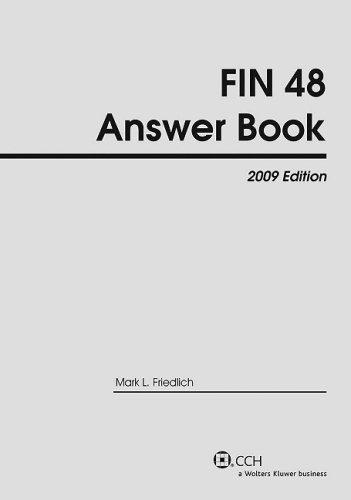Fin 48 Answer Book, 2009 Edition