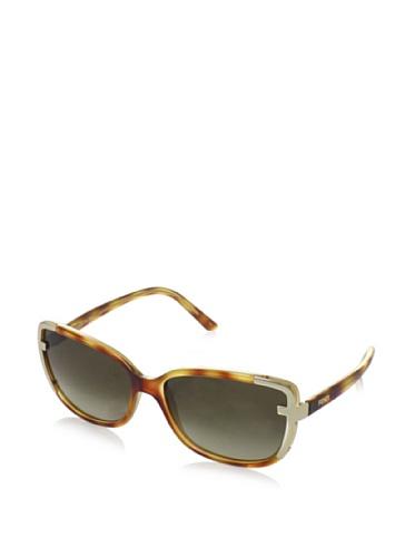 Fendi Fendi Rectangular Sunglasses (Demi Brown) (FS 5224|218|60) (Multicolor)