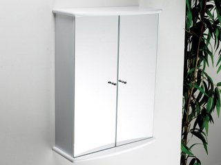 Lloyd 056.96.086 Bathroom Cabinet Double Door White