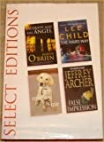 Martin O'Brien Reader's Digest Select Edition; Jacquot and the angel, the Hard Way, Marley and Me, False Impression