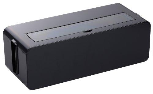 テーブルタップボックス L ブラック 4832BK