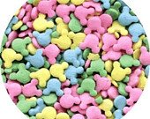 Edible Confetti Sprinkles Mickey Mouse Pastel 8 Ounces