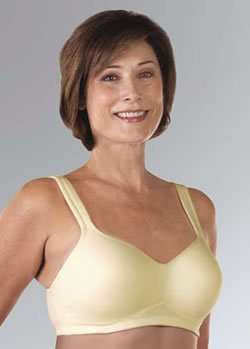 Classique Molded Cup Post-Mastectomy Pocket Bra (#739) (36B, Champagne)