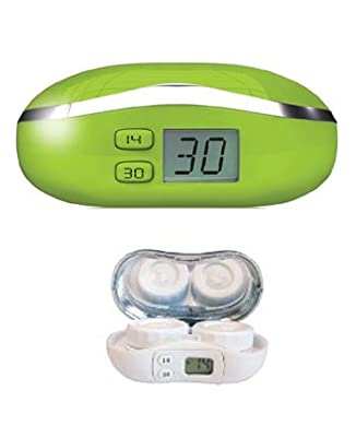 Digicase Digital Contact Lens Case - Lime Green