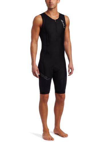2XU Men's Compression Trisuit, Black, XL