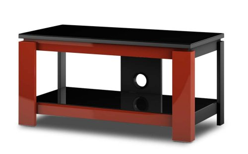 Sonorous HG 820 Television Stand for TV of Sizes Up to 37 Inch - Red