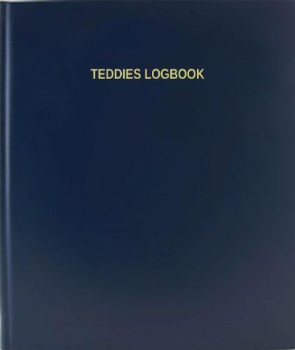 BookFactory® Teddies Logbook - 120 Page, 8.5