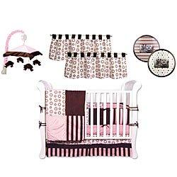 Bubblegum 9PC Crib Bedding Set From Decorators Furniture Market