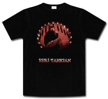 Serj Tankian * Laying * Shirt * L * LIQUIDAZIONE * ARTICOLO UNICO *