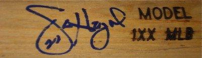 Jason Heyward Autographed Bat (braves) W/ Proof! - Autographed MLB Bats
