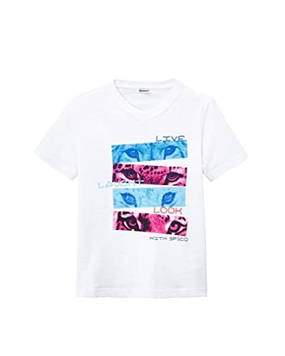 3 Pommes T-Shirt Manica Corta [Bianco]