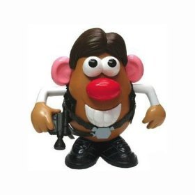 Star Wars Mr. Potato Head - Yam Solo (Han Solo)