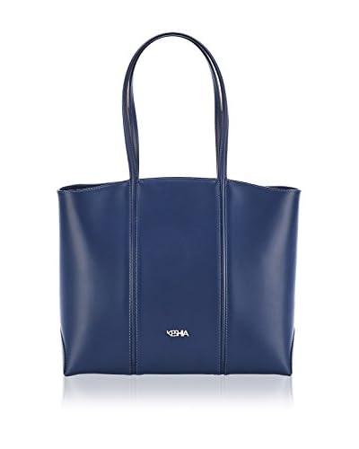 KESHIA Bolso asa al hombro Shopper Azul Única