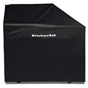 KitchenAid 8212703 48 Vinyl Cover for Freestanding Grill - Black