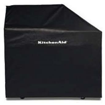 KitchenAid 8212703 48 Vinyl Cover for Freestanding Grill - Black