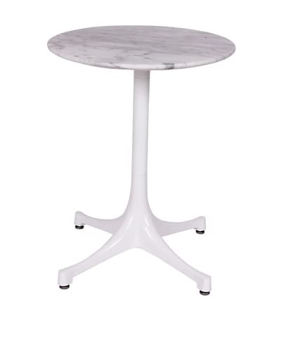 Stilnovo Swag Marble Table, White