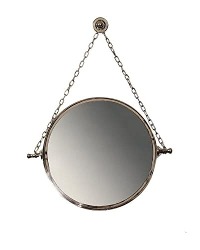 Prima Design Source Mirror On Chain, Polished Nickel