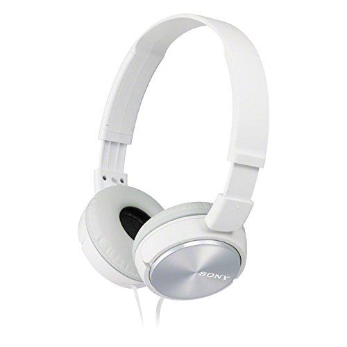 Sony MDR-ZX310APW - Auriculares de diadema cerrados (con micrófono, control remoto integrado), blanco
