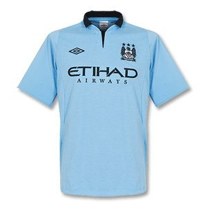 Manchester City Home Football Shirt 2012/13, Size 40