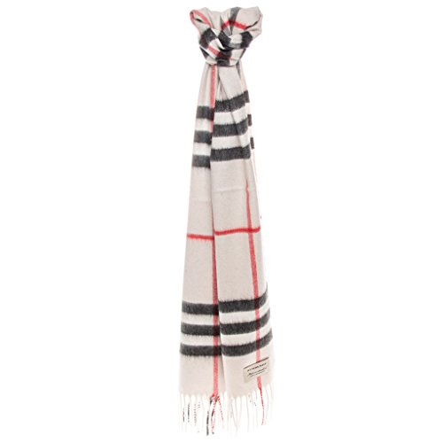 Burberry Women s Heritage Giant Check Scarf Stone