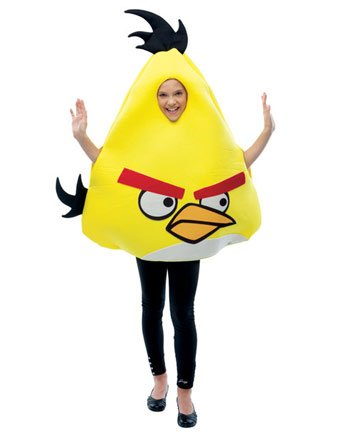 Paper Magic Group Angry Birds Yellow Bird Costume