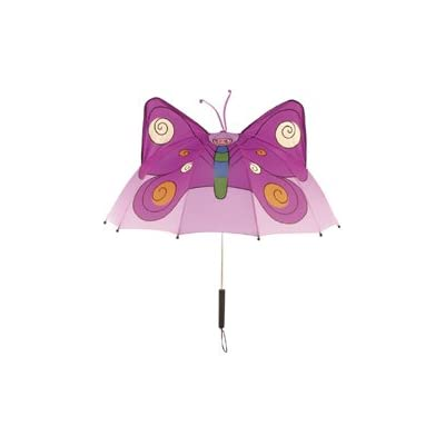 Kidorable Childrens Umbrella BUTTERFLY Brolly