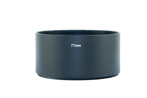 Fittest 77Mm Telephoto Metal Lens Hood With Filter Thread Mount (Lh-7739)