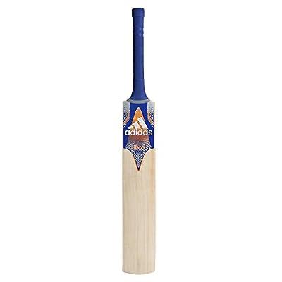 adidas Libro Club Kashmir Willow Cricket Bat, Men's Short Handle (Blue)