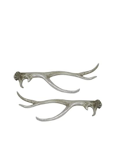 Three Hands Set of 2 Resin Antlers