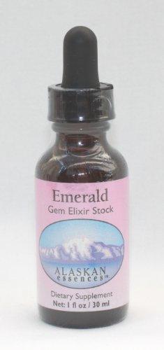 Alaskan Essences Emerald Gem Elixir Stock Dietary Supplement 1 Oz Size