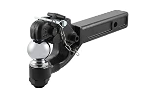 Curt 48006 Receiver Mount Combination Ball and Pintle Hook by Curt Manufacturing