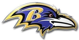 Baltimore Ravens Color Auto Emblem - Die Cut