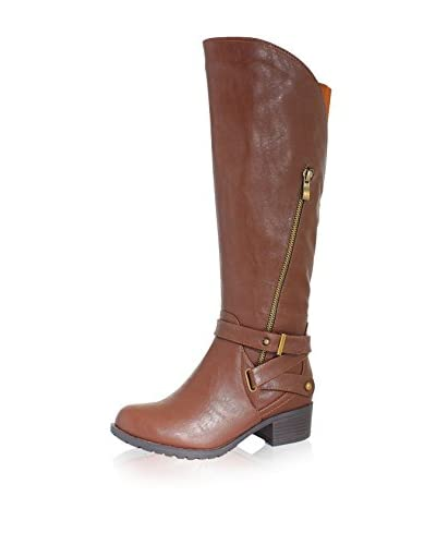 INTAGLIA Women's California Extra Wide Calf Boot
