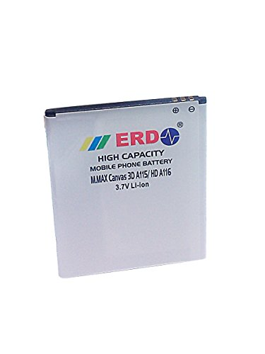ERD 1200mAh Battery (For Micromax Canvas 3D A115/Canvas HD A116)