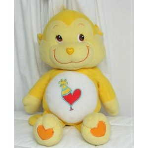 "Care Bear Cousin Playful Heart Monkey 13"" Plush (2004 Edition) front-1080320"