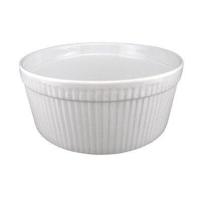Bia Cordon Bleu Inc 900016 1 Quart White Porcelain Souffle Bowl