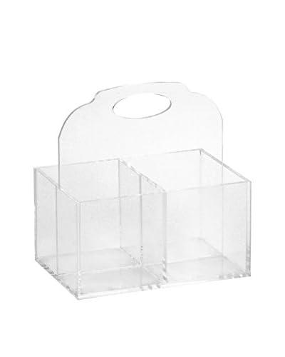 Sheratonn Porta Cubiertos Plexi Transparente