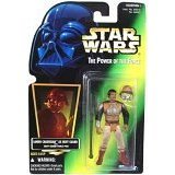 Star Wars POTF2 Green Card Lando Calrissian Skiff Guard [Toy]