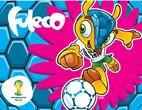 FIFA 2014 World Cup Brazil Mascot Ultra Decal