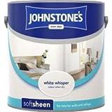 Johnstones No Ordinary Paint Water Based Interior Soft Sheen Emulsion White Whisper 2.5 Litre