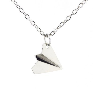 Paper Airplane Paper plane Necklace One Direction Harry Styles Unique Jewellery (Style Directions For Women compare prices)