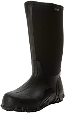 Bogs Men's Classic High Waterproof Winter & Rain Boot,Black,6 M US