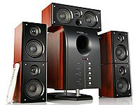 HOME-THEATER Surround-Sound-System 5.1 mit Fernbedienung
