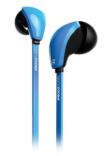 Ifrogz (If-Cbd-Blu) Blue Audio Coda Buds Hi-Def Stereo Earphones With Mic Black