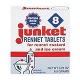 Junket Rennet Tablets 8 Ct. - 12 Unit Pack