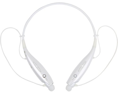LG Electronics HBS-730 Tone+ Stereo Bluetooth Headset - Retail Packaging - White